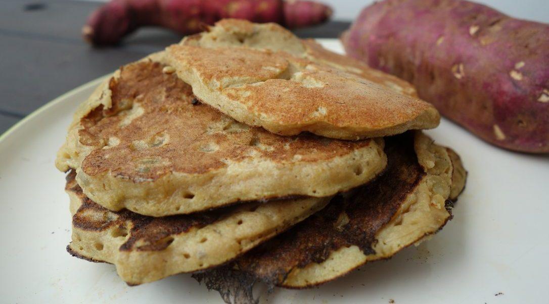 pancakes de patate douce la recette la plus simple sans mati re grasse the fitness theory. Black Bedroom Furniture Sets. Home Design Ideas