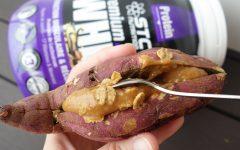 patate douce farcie caramel stc nutrition